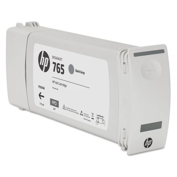 HP 765 Dark Gray Ink Cartridge (F9J54A)