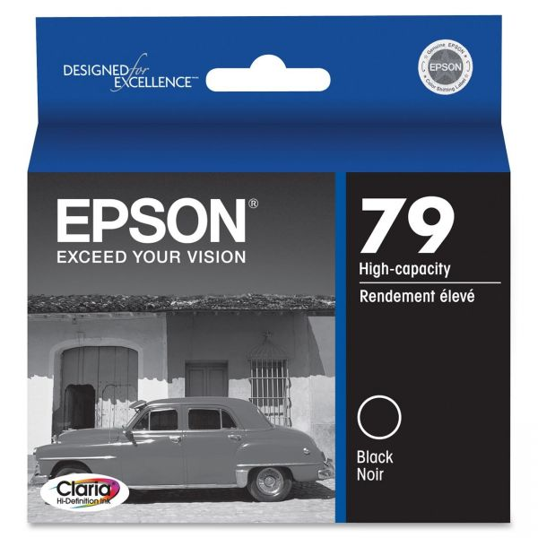 Epson 79 Black High-Capacity Ink Cartridge (T079120)