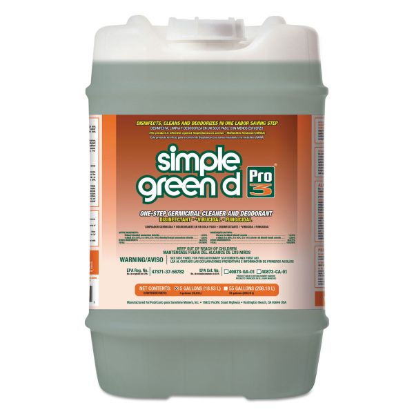 simple green d Pro 3 Germicidal Cleaner