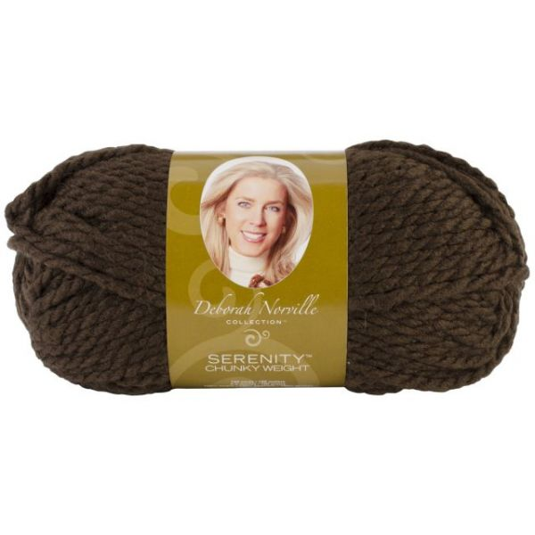 Deborah Norville Collection Serenity Chunky Yarn - Fudge