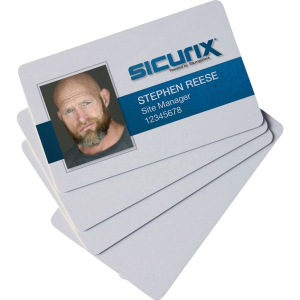 Baumgartens PVC Blank ID Cards