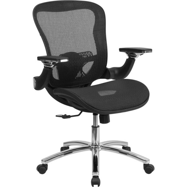 Flash Furniture Mid-Back Mesh Executive Swivel Office Chair