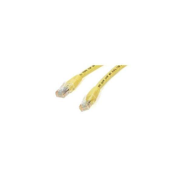 StarTech.com 6 ft Yellow Molded Cat6 UTP Patch Cable - ETL Verified