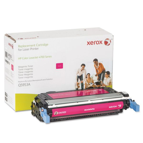 Xerox Remanufactured HP Q5953A Magenta Toner Cartridge