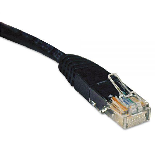 Tripp Lite CAT5e Molded Patch Cable, 14 ft., Black