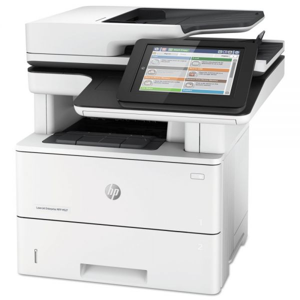 HP LaserJet Enterprise Flow MFP M527c Multifunction Printer, Copy/Fax/Print/Scan