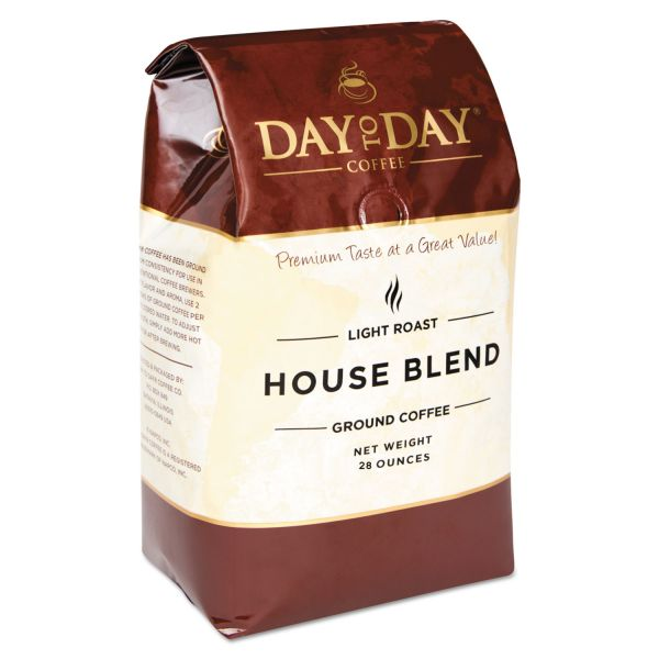 Day to Day Coffee 100% Pure House Blend Ground Coffee
