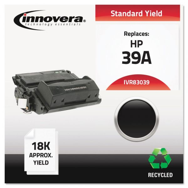 Innovera Remanufactured HP 39A (Q1339A) Toner Cartridge