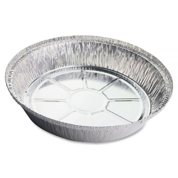Genuine Joe Round Aluminum Food Container Sets