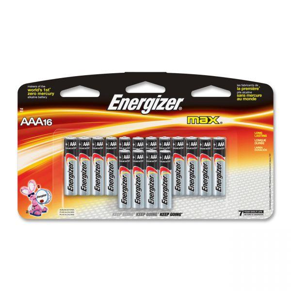 Energizer Max Alkaline AAA Batteries
