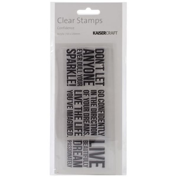 """Texture Clear Stamps 2""""X5"""""""
