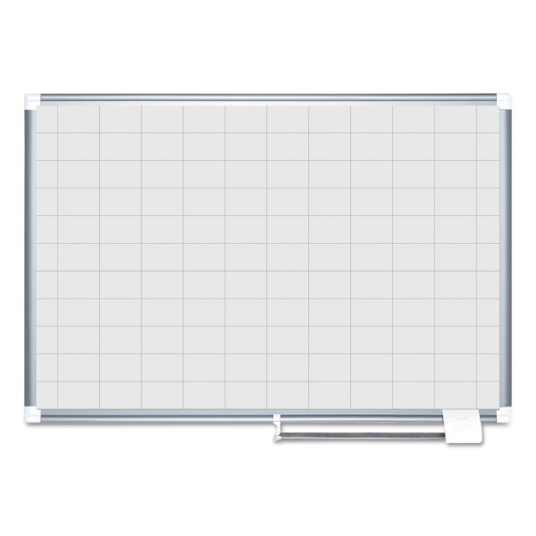 MasterVision Grid Planning Board, 36x48 Cork/Black