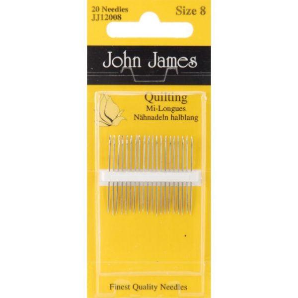 John James Quilting/Betweens Hand Needles