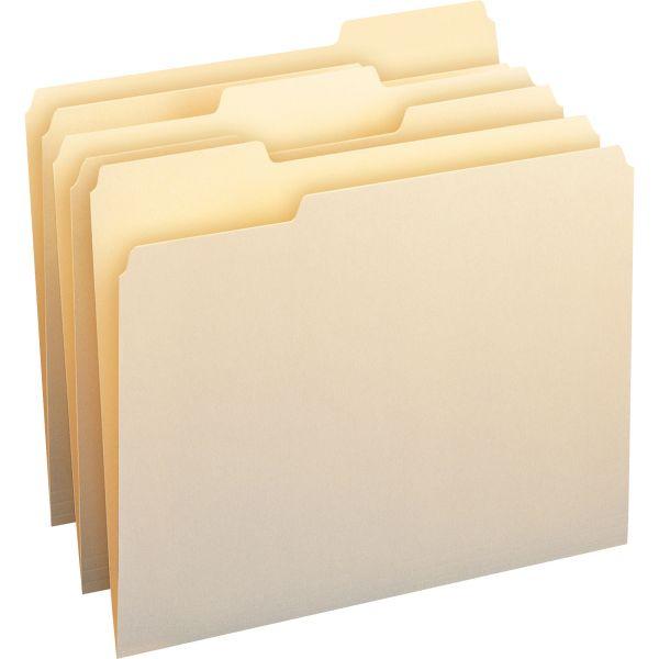 Smead 100% Recycled Manila File Folders