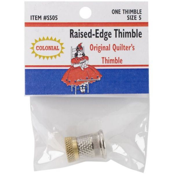 Raised-Edge Thimble