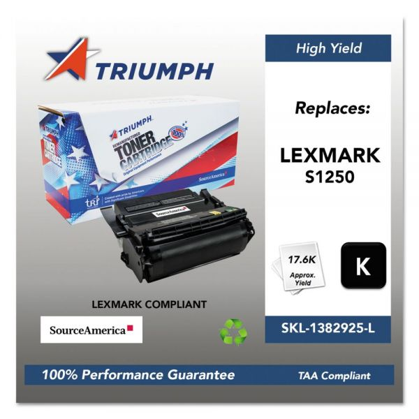 Triumph Remanufactured Lexmark S1250 Toner Cartridge