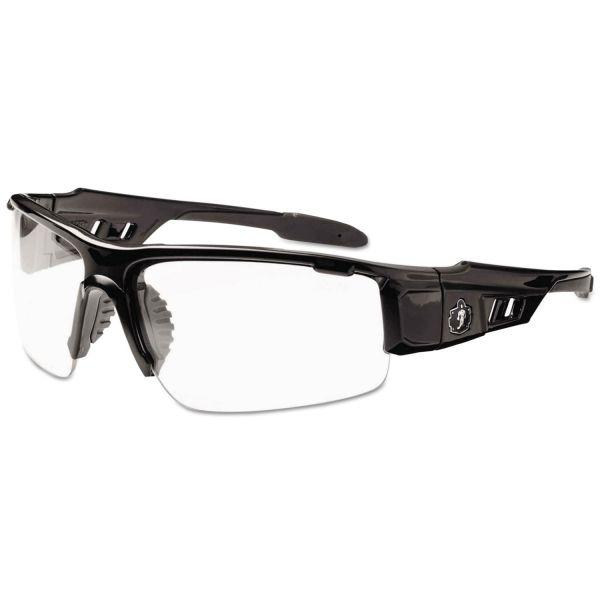 Ergodyne Dagr Clear Lens Half Frame Safety Glasses