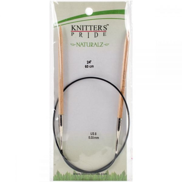 Naturalz Fixed Circular Needles 24""