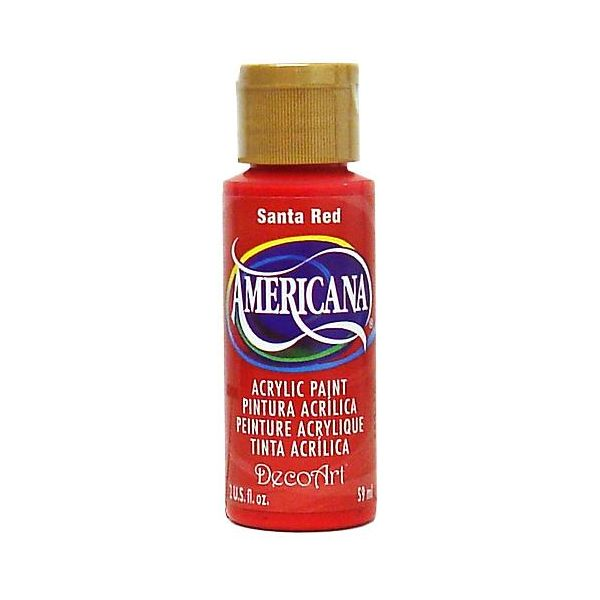 Deco Art Americana Santa Red Acrylic Paint