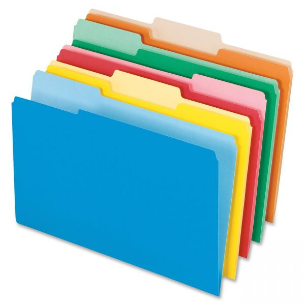 Pendaflex Top Tab Colored File Folders