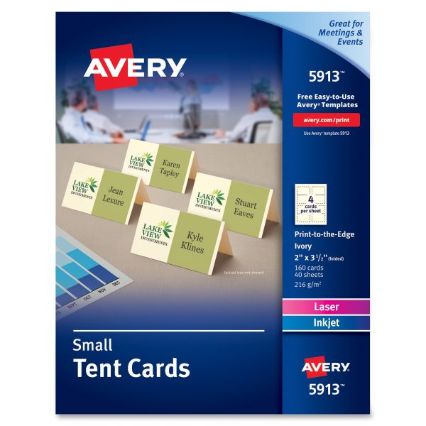 Avery 5913 Small Tent Cards
