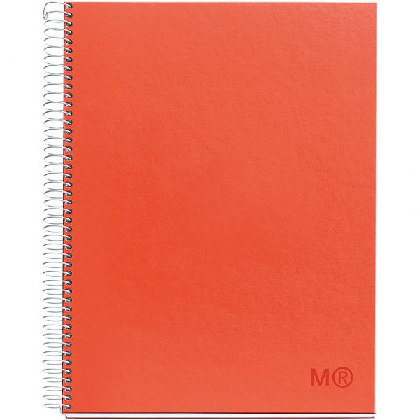 "Candy Colors Spiral-Bound Ruled Notebook 8.5""X11"""