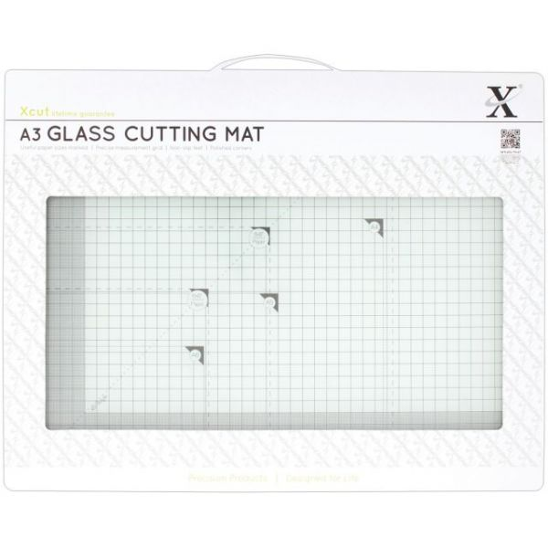 Xcut Tempered Glass Cutting Mat A3