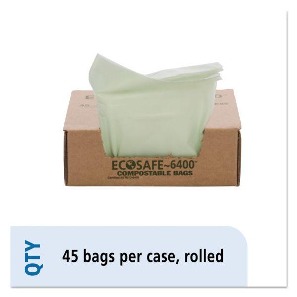 Stout Ecosafe Compostable 13 Gallon Trash Bags