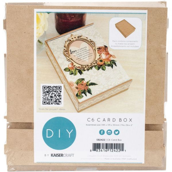 Beyond The Page MDF Card Box