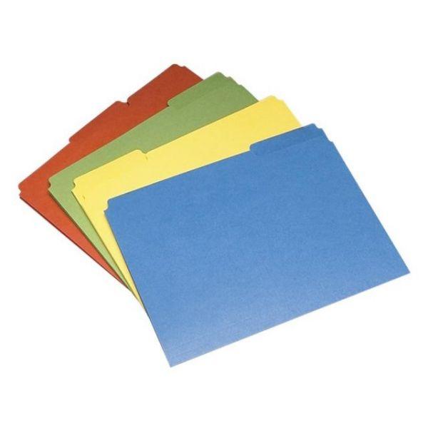 SKILCRAFT Colored File Folders