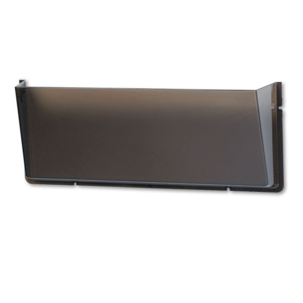 deflecto Unbreakable DocuPocket Wall File, Legal, 17 1/2 x 3 x 6 1/2, Smoke