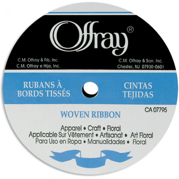 "Offray 1/4"" Single Face Satin Ribbon"