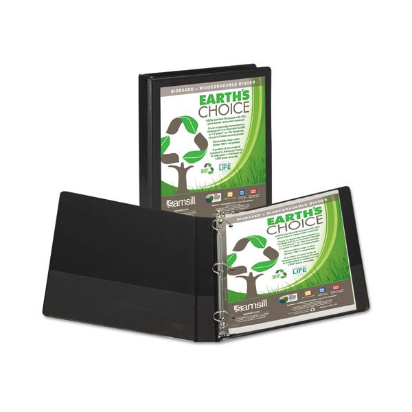 "Samsill Earth's Choice 1"" 3-Ring View Binder"