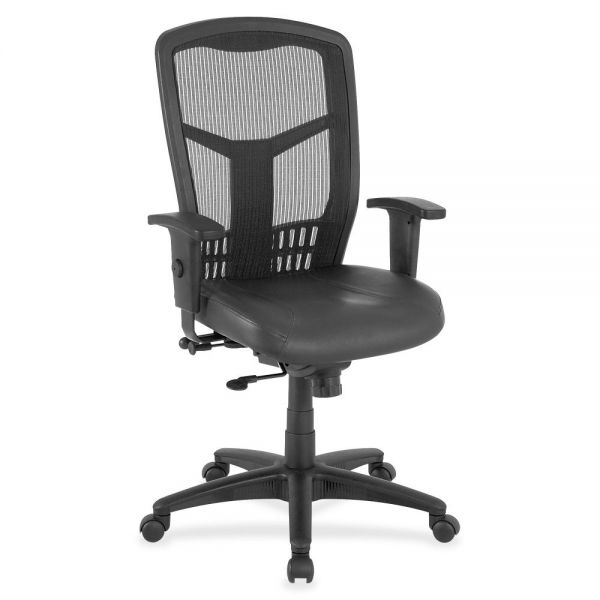 Lorell Executive High-Back Swivel Mesh Office Chair