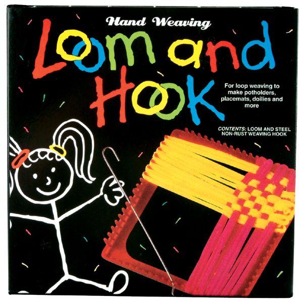 Hand Weaving Loom & Hook