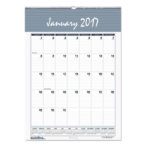 House of Doolittle Bar Harbor Monthly Wall Calendar