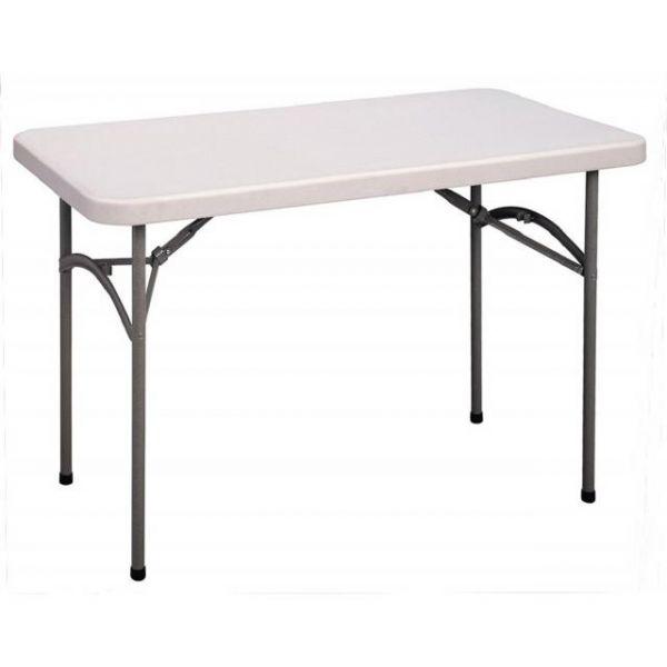Correll Blow-Molded Rectangular Folding Table