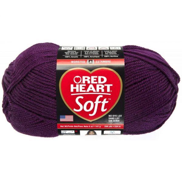 Red Heart Soft Yarn - Grape