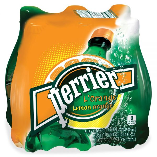Perrier L'Orange Sparkling Mineral Water