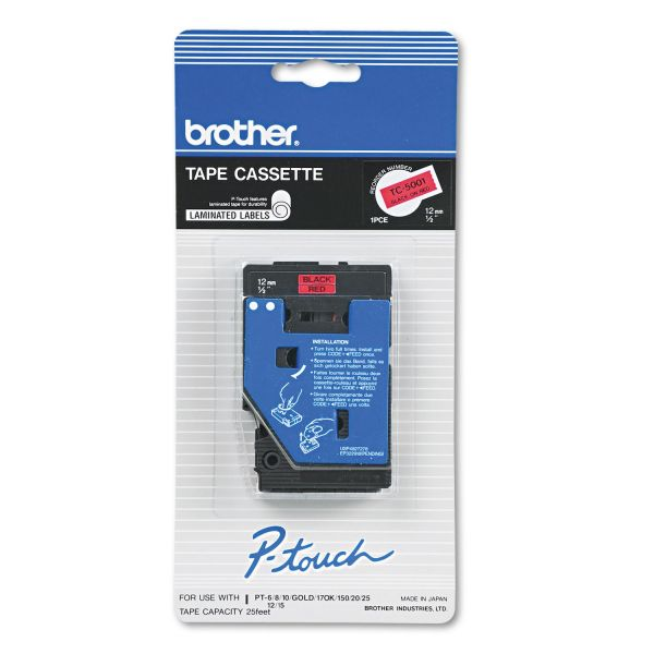 Brother P-Touch Label Tape Cartridge
