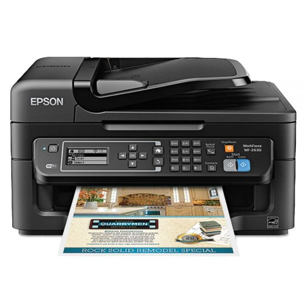 Epson WorkForce WF-2630 AIO Printer, Black