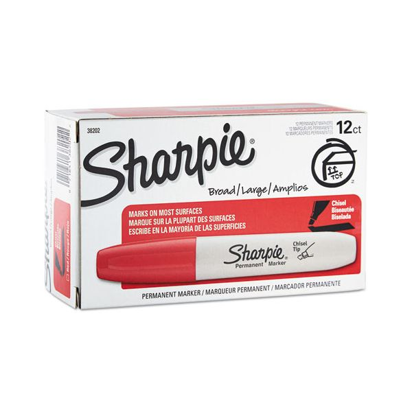 Sharpie Red Permanent Markers