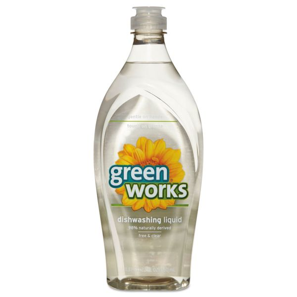 Green Works Free & Clear Liquid Dish Soap