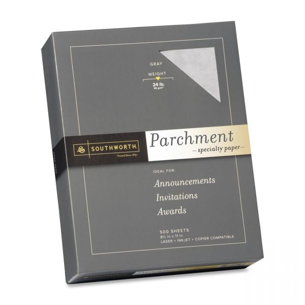 Southworth Fine Gray Parchment Paper