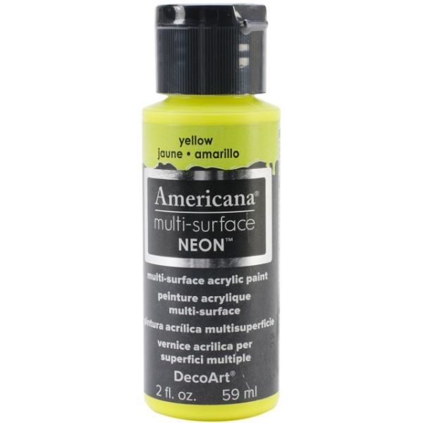 Deco Art Americana Multi-Surface Neon Acrylic Paint