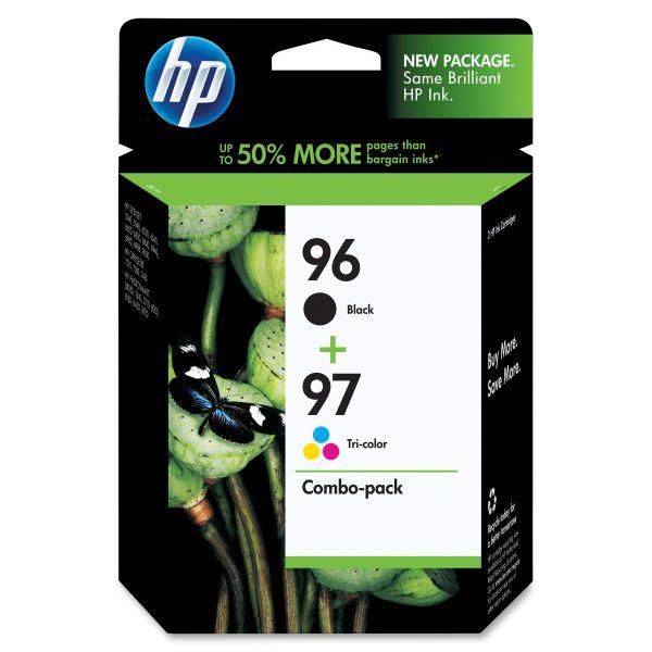 HP 96/97 Combo Pack Ink Cartridges (C9353FN)