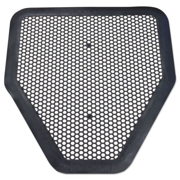 Big D Industries Deo-Gard Disposable Urinal Mat, Charcoal, Mountain Air, 17 1/2x20 1/2, 6/Carton