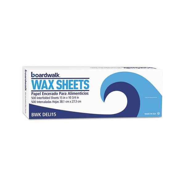 Boardwalk Interfold Wax Deli Tissue Sheets
