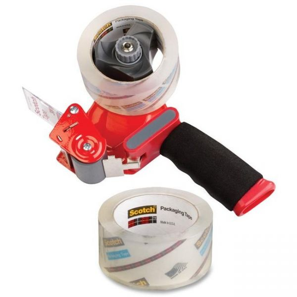 Scotch Heavy Duty Packing Tape with Handheld Dispenser