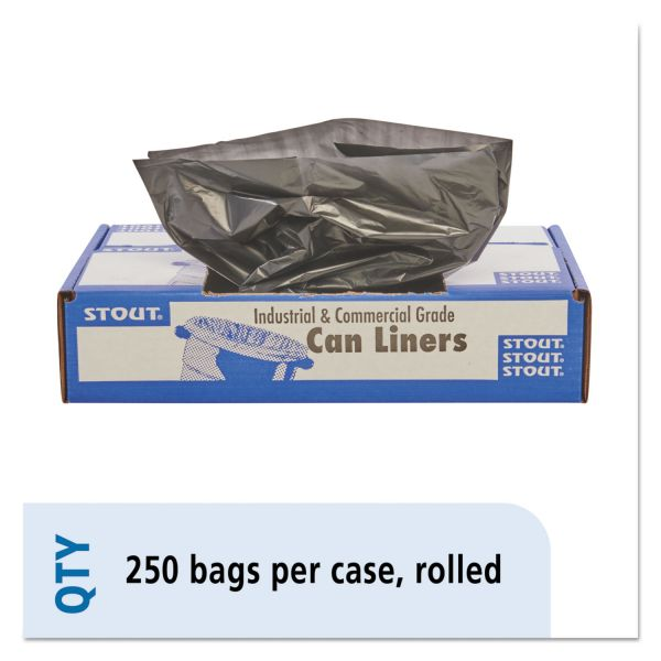Stout 100% Recycled 10 Gallon Trash Bags